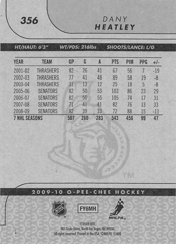 2009-10-O-Pee-Chee-OPC-NHL-Hockey-Trading-Card-Pick-From-List-201-400 miniature 295
