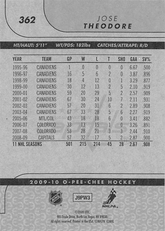 2009-10-O-Pee-Chee-OPC-NHL-Hockey-Trading-Card-Pick-From-List-201-400 miniature 307