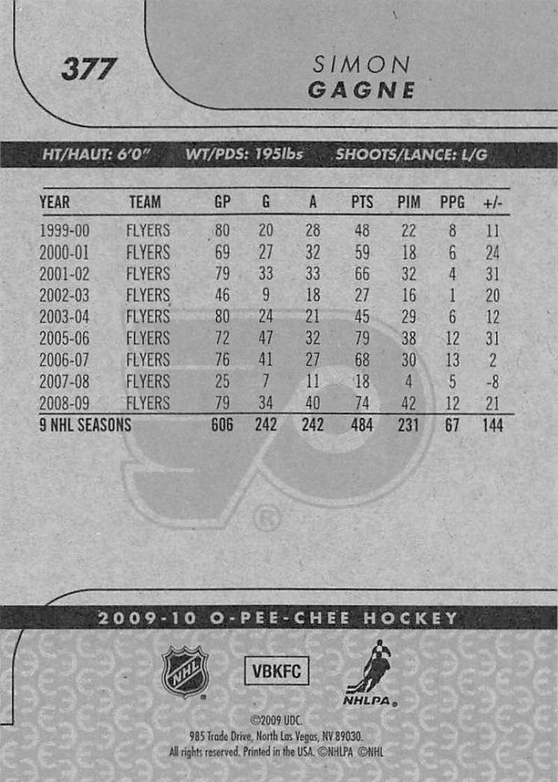 2009-10-O-Pee-Chee-OPC-NHL-Hockey-Trading-Card-Pick-From-List-201-400 miniature 335