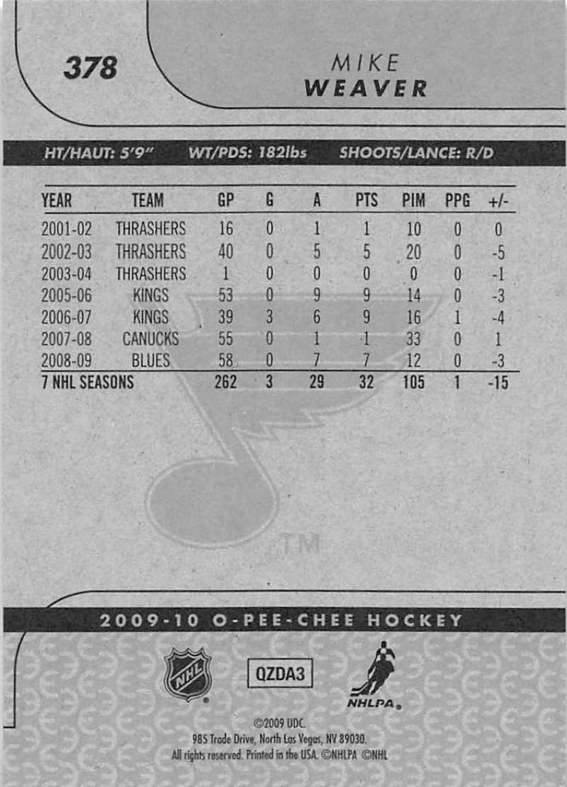 2009-10-O-Pee-Chee-OPC-NHL-Hockey-Trading-Card-Pick-From-List-201-400 miniature 337