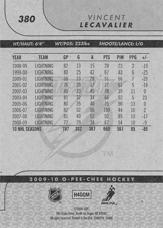 2009-10-O-Pee-Chee-OPC-NHL-Hockey-Trading-Card-Pick-From-List-201-400 miniature 341