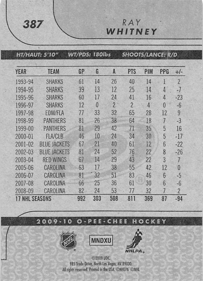 2009-10-O-Pee-Chee-OPC-NHL-Hockey-Trading-Card-Pick-From-List-201-400 miniature 353