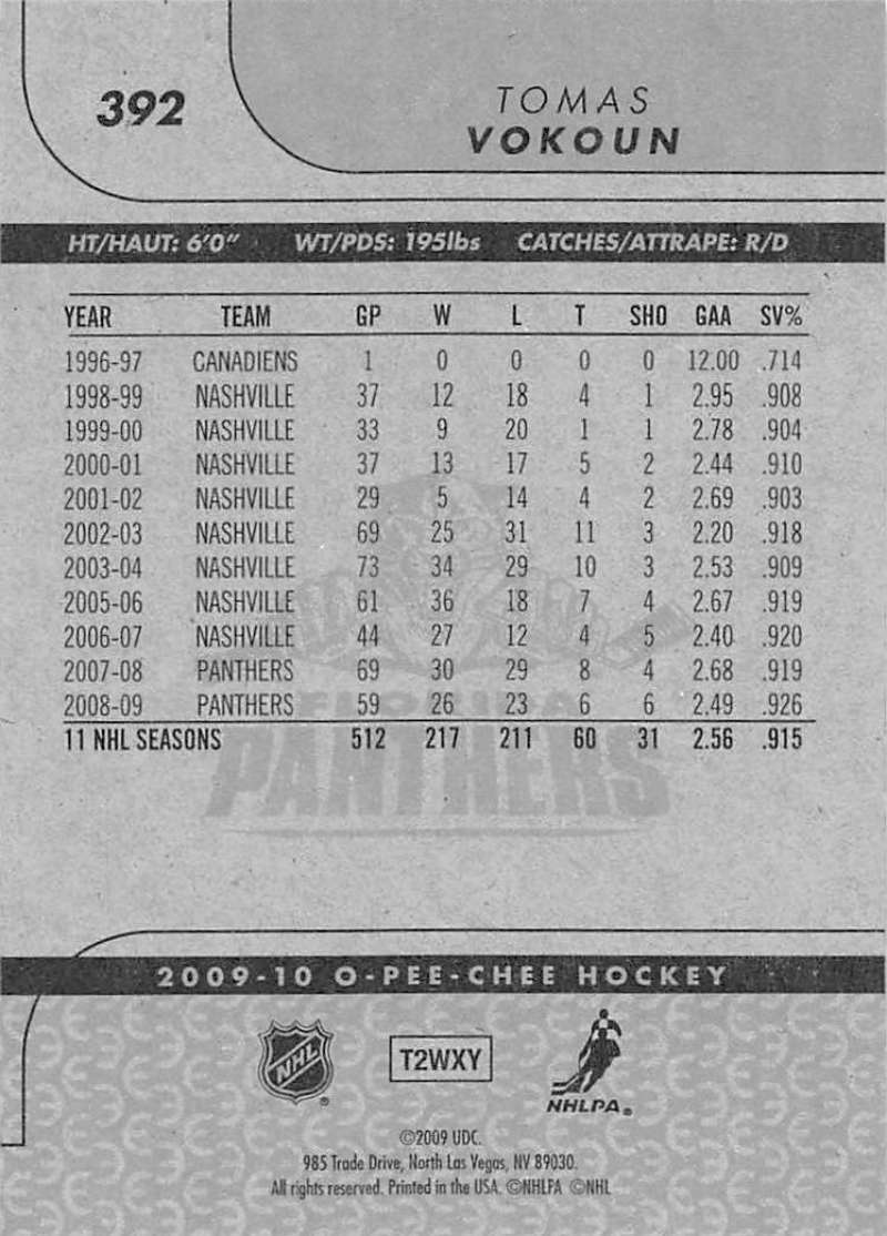 2009-10-O-Pee-Chee-OPC-NHL-Hockey-Trading-Card-Pick-From-List-201-400 miniature 363