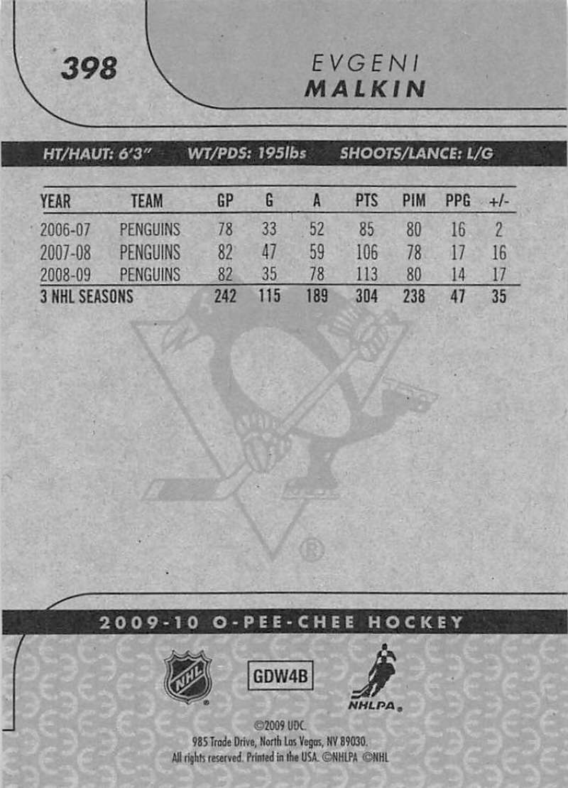2009-10-O-Pee-Chee-OPC-NHL-Hockey-Trading-Card-Pick-From-List-201-400 miniature 375