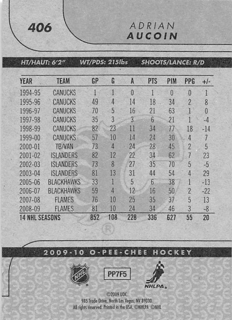 2009-10-O-Pee-Chee-OPC-NHL-Hockey-Trading-Card-Pick-From-List-401-600 Indexbild 13