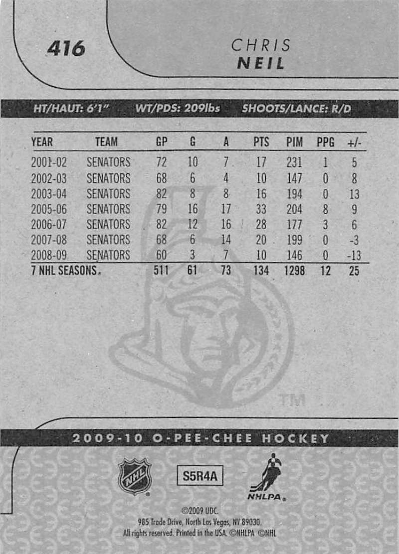 2009-10-O-Pee-Chee-OPC-NHL-Hockey-Trading-Card-Pick-From-List-401-600 Indexbild 31