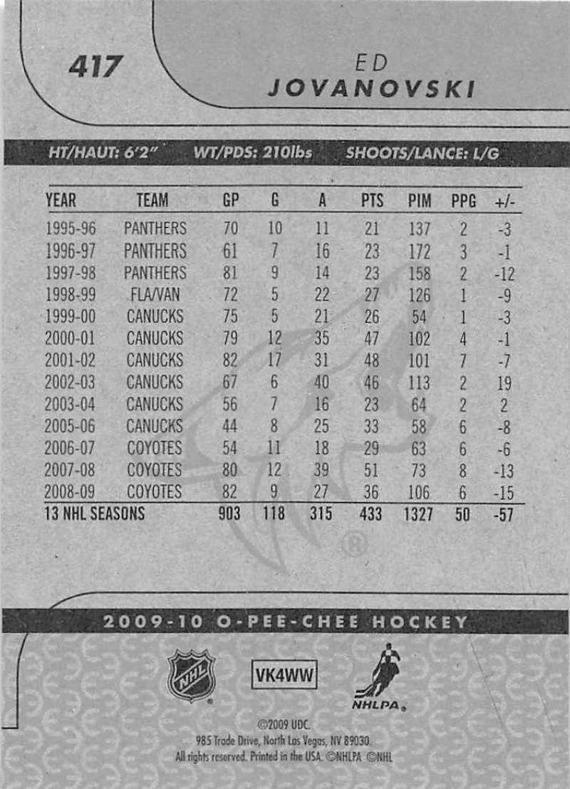 2009-10-O-Pee-Chee-OPC-NHL-Hockey-Trading-Card-Pick-From-List-401-600 Indexbild 33
