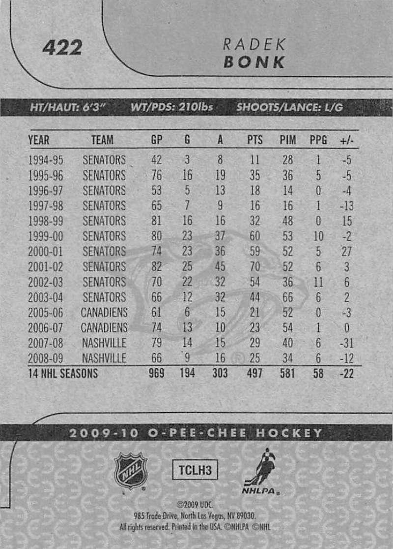 2009-10-O-Pee-Chee-OPC-NHL-Hockey-Trading-Card-Pick-From-List-401-600 Indexbild 41