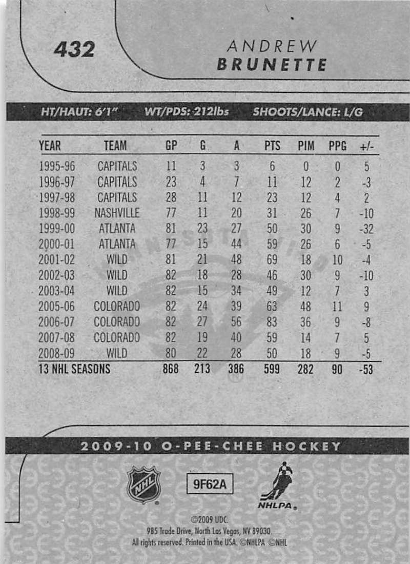 2009-10-O-Pee-Chee-OPC-NHL-Hockey-Trading-Card-Pick-From-List-401-600 Indexbild 57