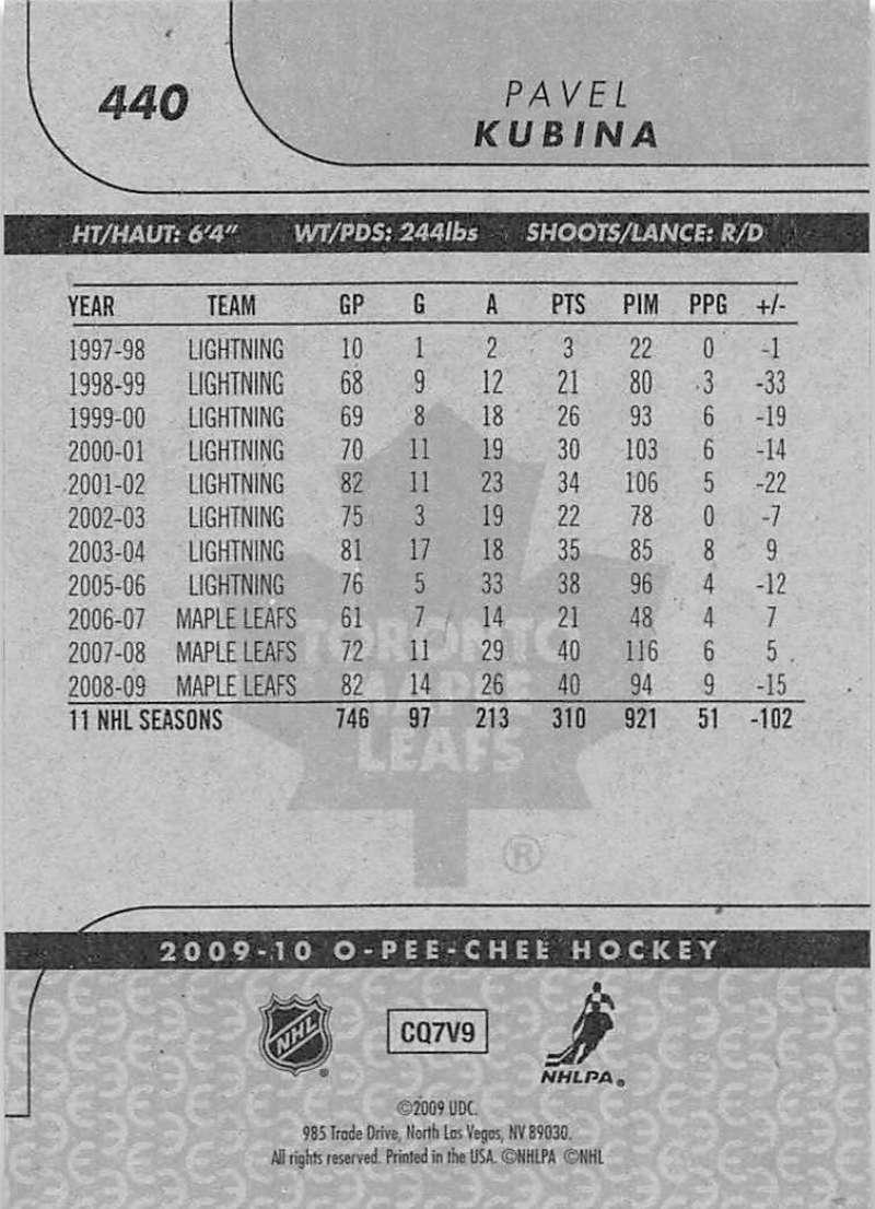 2009-10-O-Pee-Chee-OPC-NHL-Hockey-Trading-Card-Pick-From-List-401-600 Indexbild 71
