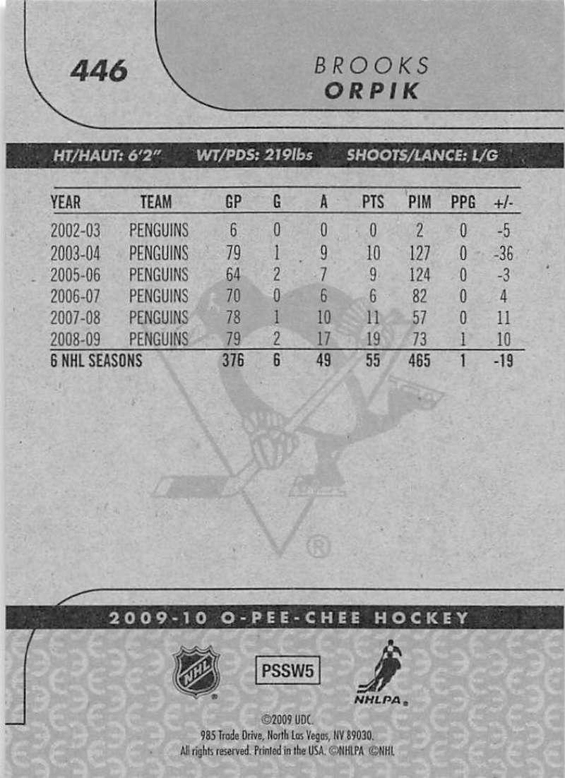 2009-10-O-Pee-Chee-OPC-NHL-Hockey-Trading-Card-Pick-From-List-401-600 Indexbild 83