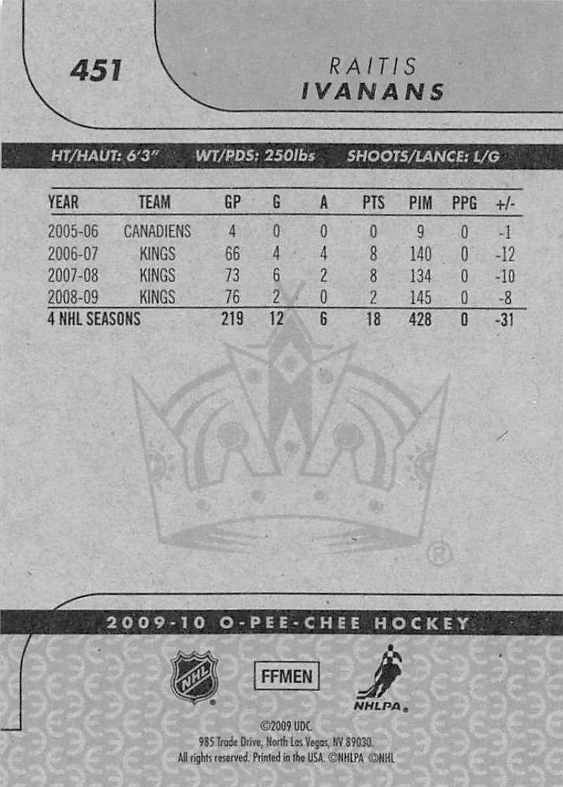 2009-10-O-Pee-Chee-OPC-NHL-Hockey-Trading-Card-Pick-From-List-401-600 Indexbild 93