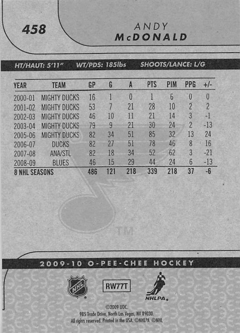 2009-10-O-Pee-Chee-OPC-NHL-Hockey-Trading-Card-Pick-From-List-401-600 Indexbild 107