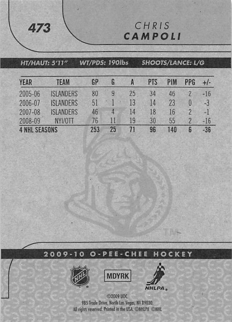 2009-10-O-Pee-Chee-OPC-NHL-Hockey-Trading-Card-Pick-From-List-401-600 Indexbild 133