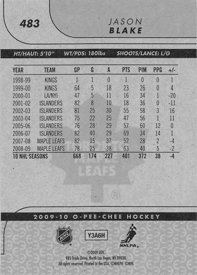 2009-10-O-Pee-Chee-OPC-NHL-Hockey-Trading-Card-Pick-From-List-401-600 Indexbild 149