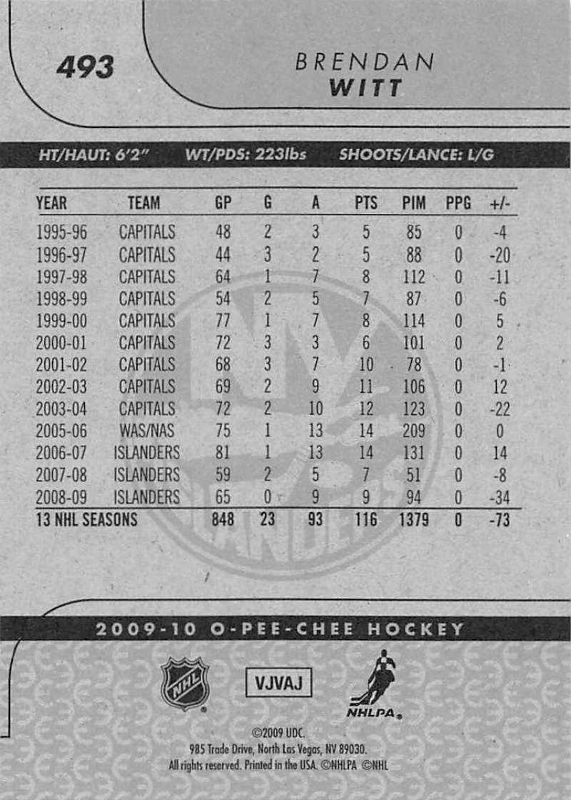 2009-10-O-Pee-Chee-OPC-NHL-Hockey-Trading-Card-Pick-From-List-401-600 Indexbild 169