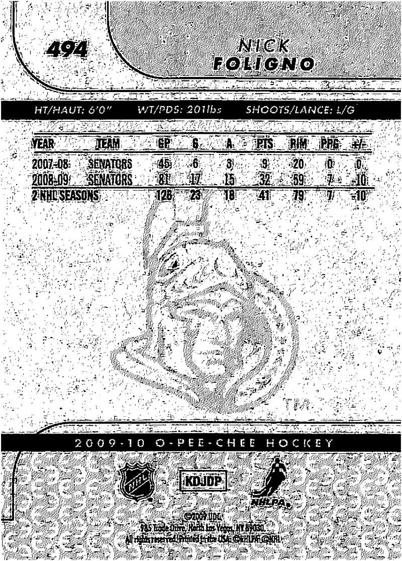 2009-10-O-Pee-Chee-OPC-NHL-Hockey-Trading-Card-Pick-From-List-401-600 Indexbild 171