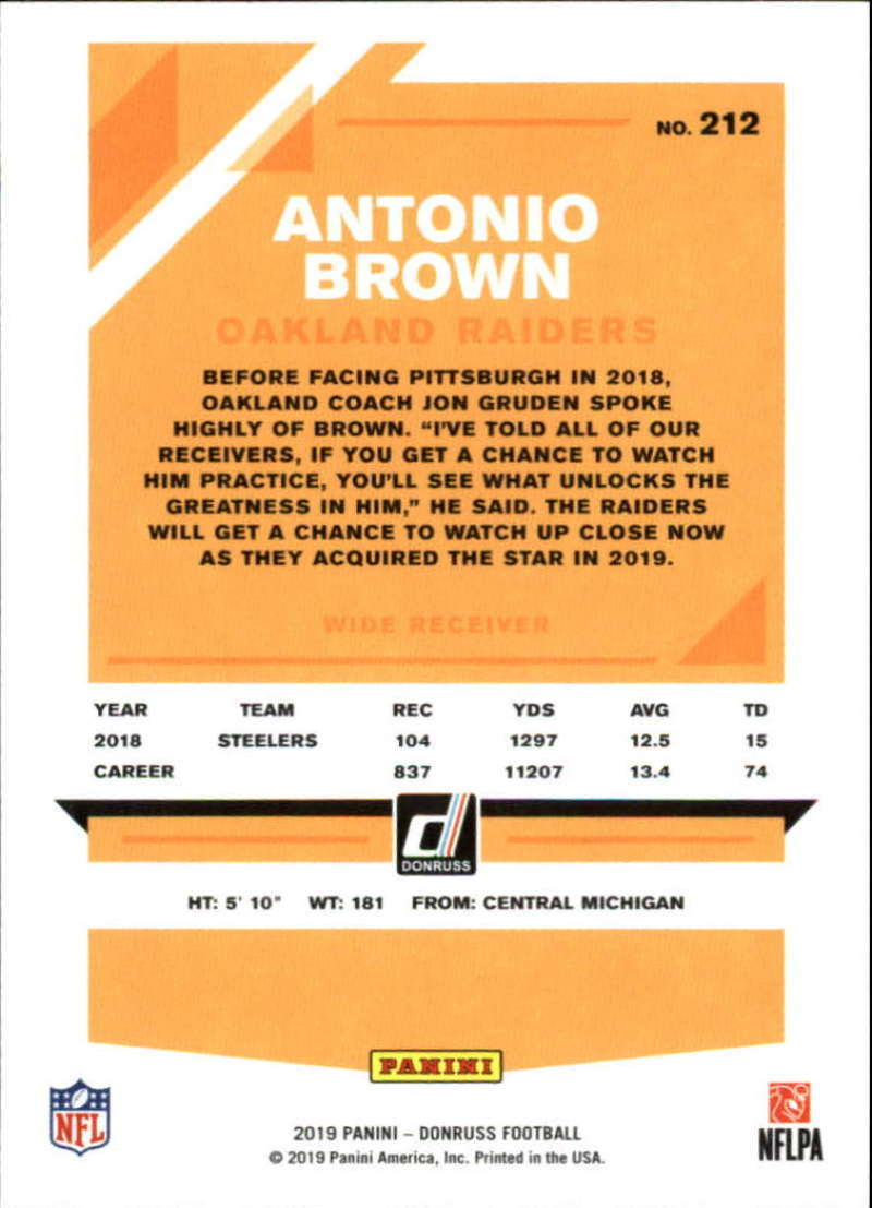 2019-Donruss-Panini-NFL-Football-Cards-Pick-From-List-201-350-With-Rookies thumbnail 25