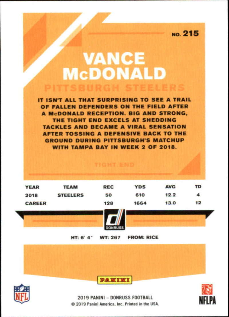 2019-Donruss-Panini-NFL-Football-Cards-Pick-From-List-201-350-With-Rookies thumbnail 31