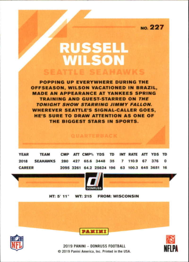 2019-Donruss-Panini-NFL-Football-Cards-Pick-From-List-201-350-With-Rookies thumbnail 55