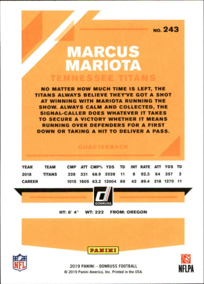 2019-Donruss-Panini-NFL-Football-Cards-Pick-From-List-201-350-With-Rookies thumbnail 87