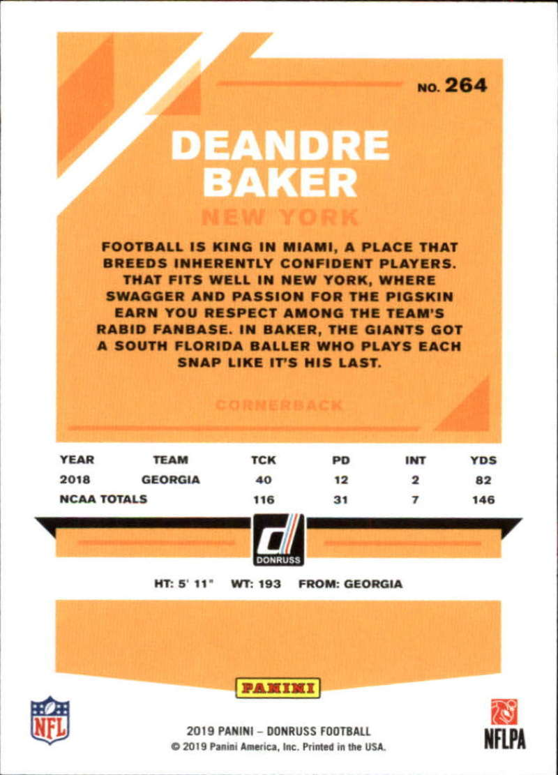2019-Donruss-Panini-NFL-Football-Cards-Pick-From-List-201-350-With-Rookies thumbnail 129