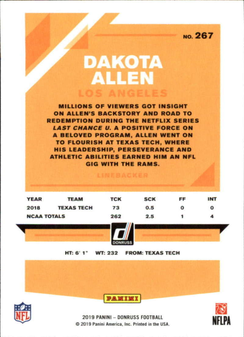 2019-Donruss-Panini-NFL-Football-Cards-Pick-From-List-201-350-With-Rookies thumbnail 135