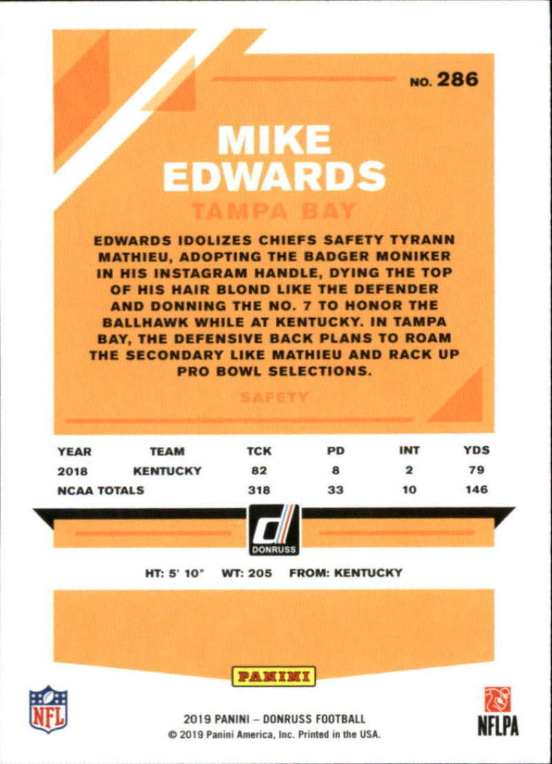 2019-Donruss-Panini-NFL-Football-Cards-Pick-From-List-201-350-With-Rookies thumbnail 173