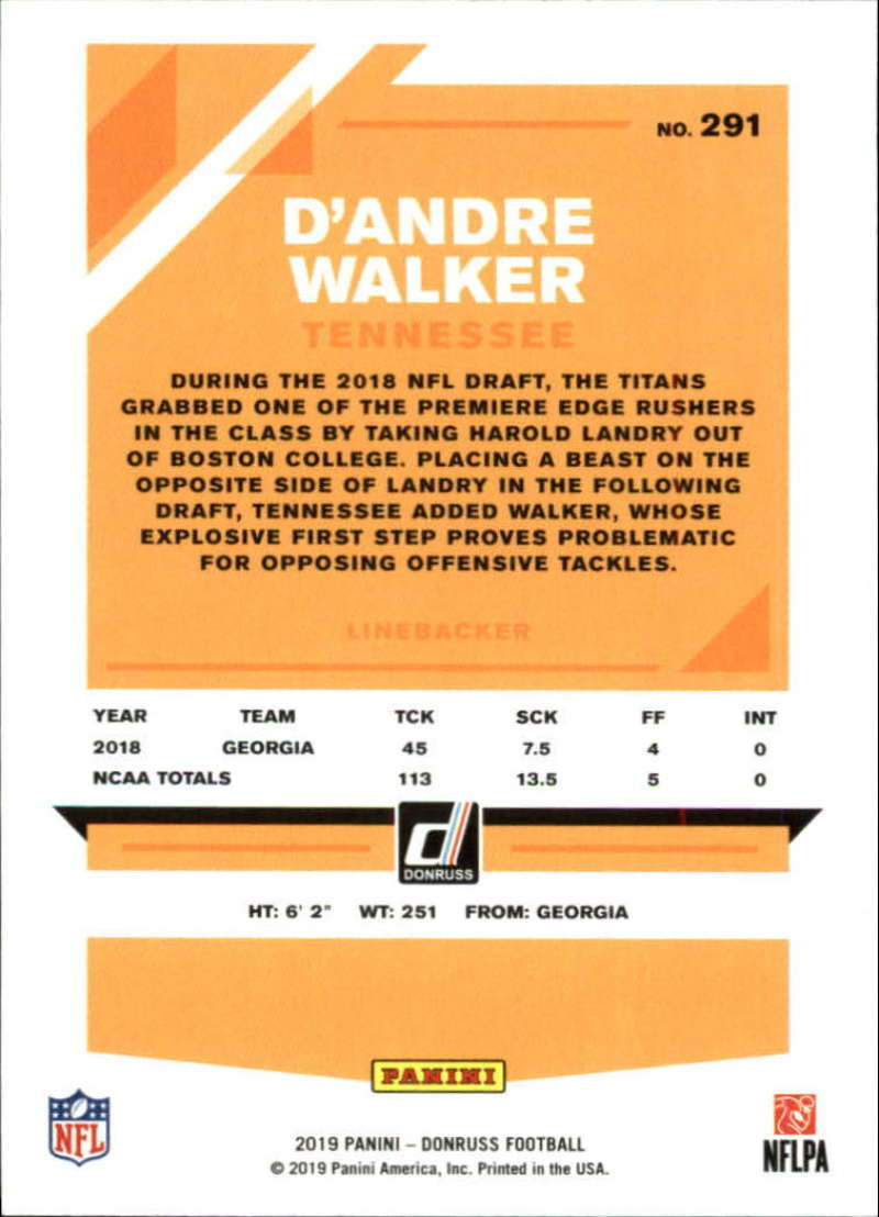 2019-Donruss-Panini-NFL-Football-Cards-Pick-From-List-201-350-With-Rookies thumbnail 183