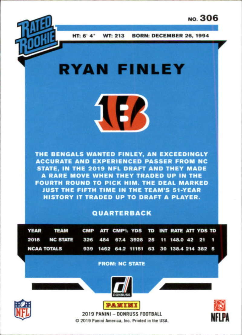 2019-Donruss-Panini-NFL-Football-Cards-Pick-From-List-201-350-With-Rookies thumbnail 207