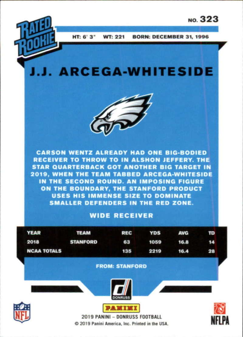 2019-Donruss-Panini-NFL-Football-Cards-Pick-From-List-201-350-With-Rookies thumbnail 223