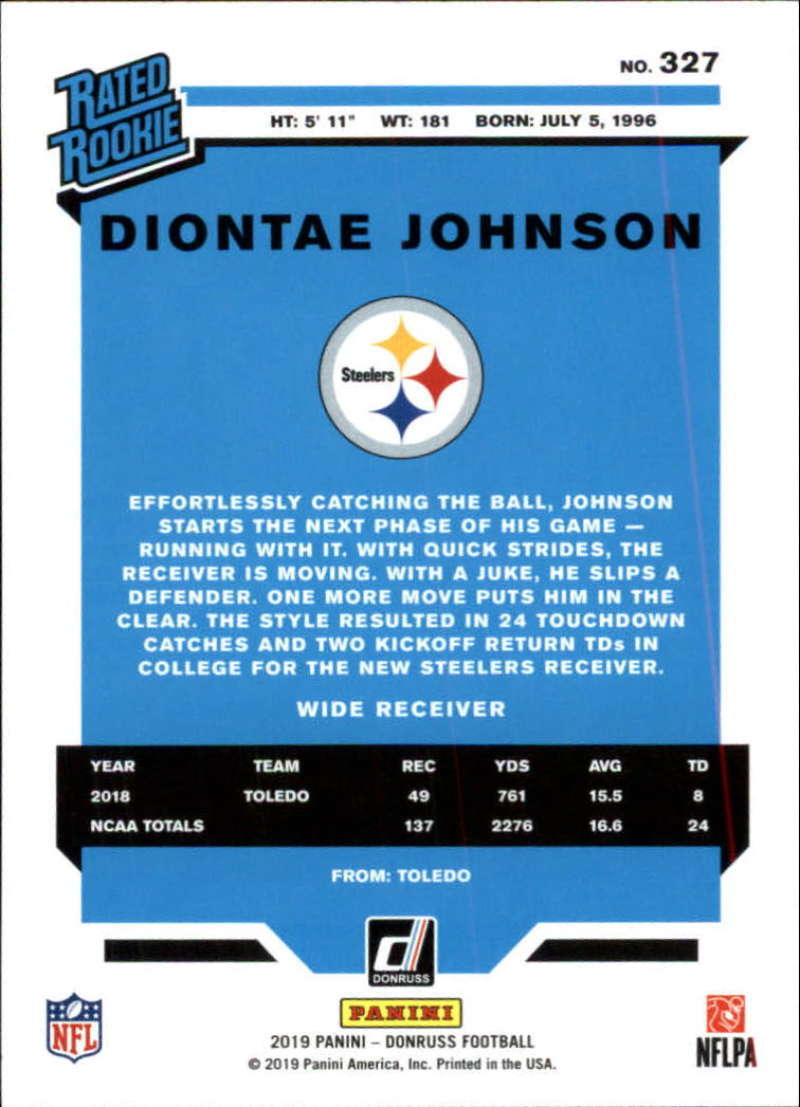2019-Donruss-Panini-NFL-Football-Cards-Pick-From-List-201-350-With-Rookies thumbnail 231