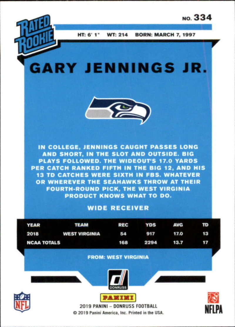 2019-Donruss-Panini-NFL-Football-Cards-Pick-From-List-201-350-With-Rookies thumbnail 240