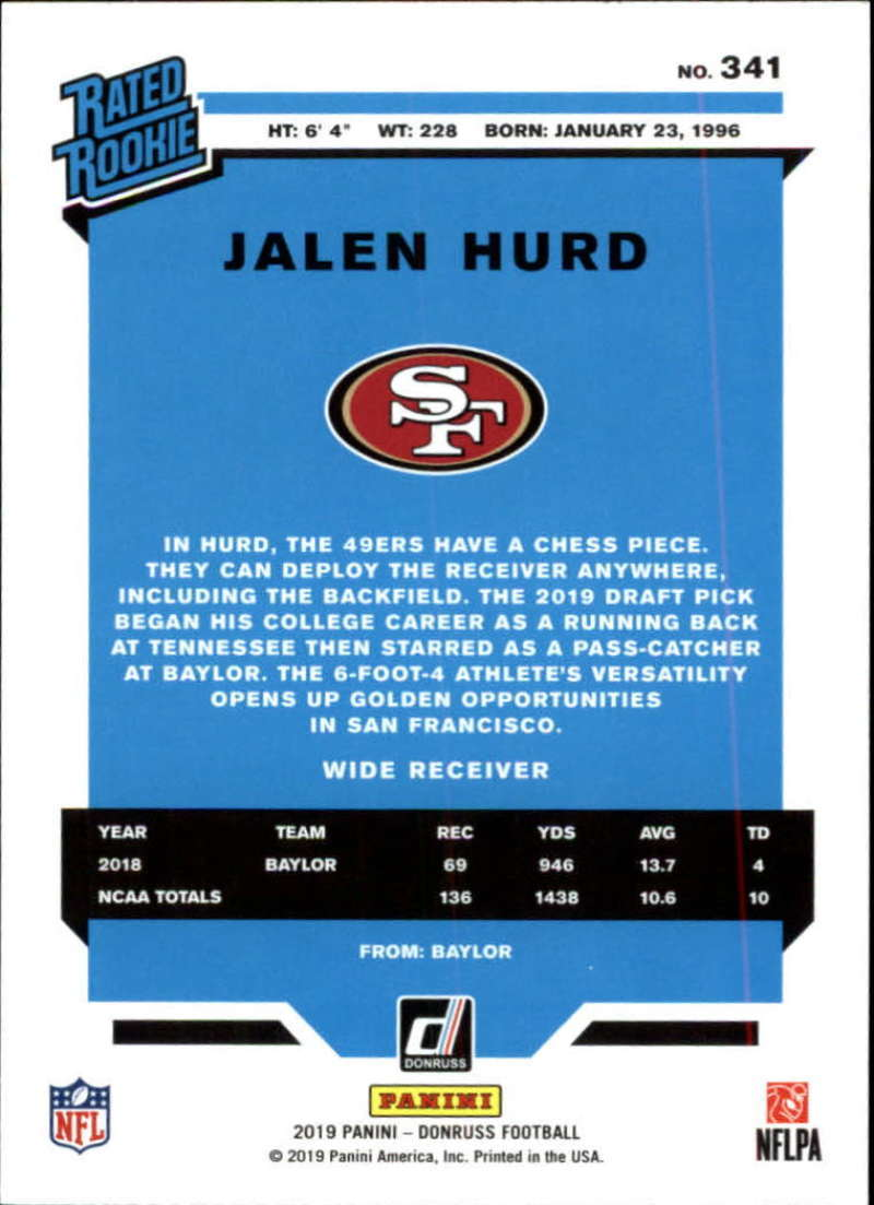 2019-Donruss-Panini-NFL-Football-Cards-Pick-From-List-201-350-With-Rookies thumbnail 250