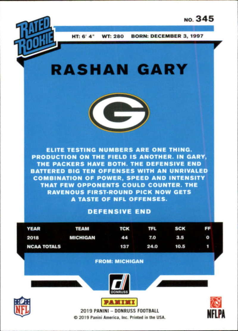 2019-Donruss-Panini-NFL-Football-Cards-Pick-From-List-201-350-With-Rookies thumbnail 258