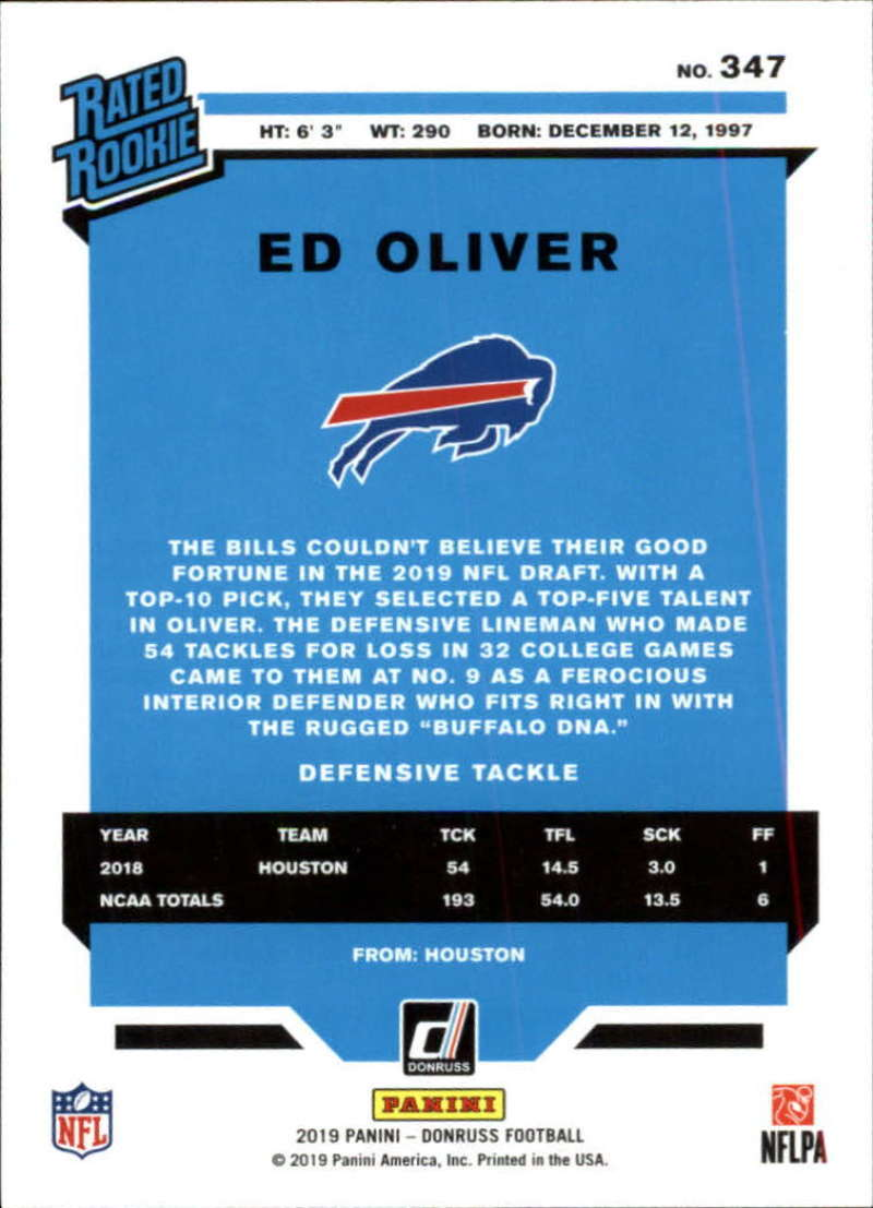 2019-Donruss-Panini-NFL-Football-Cards-Pick-From-List-201-350-With-Rookies thumbnail 262