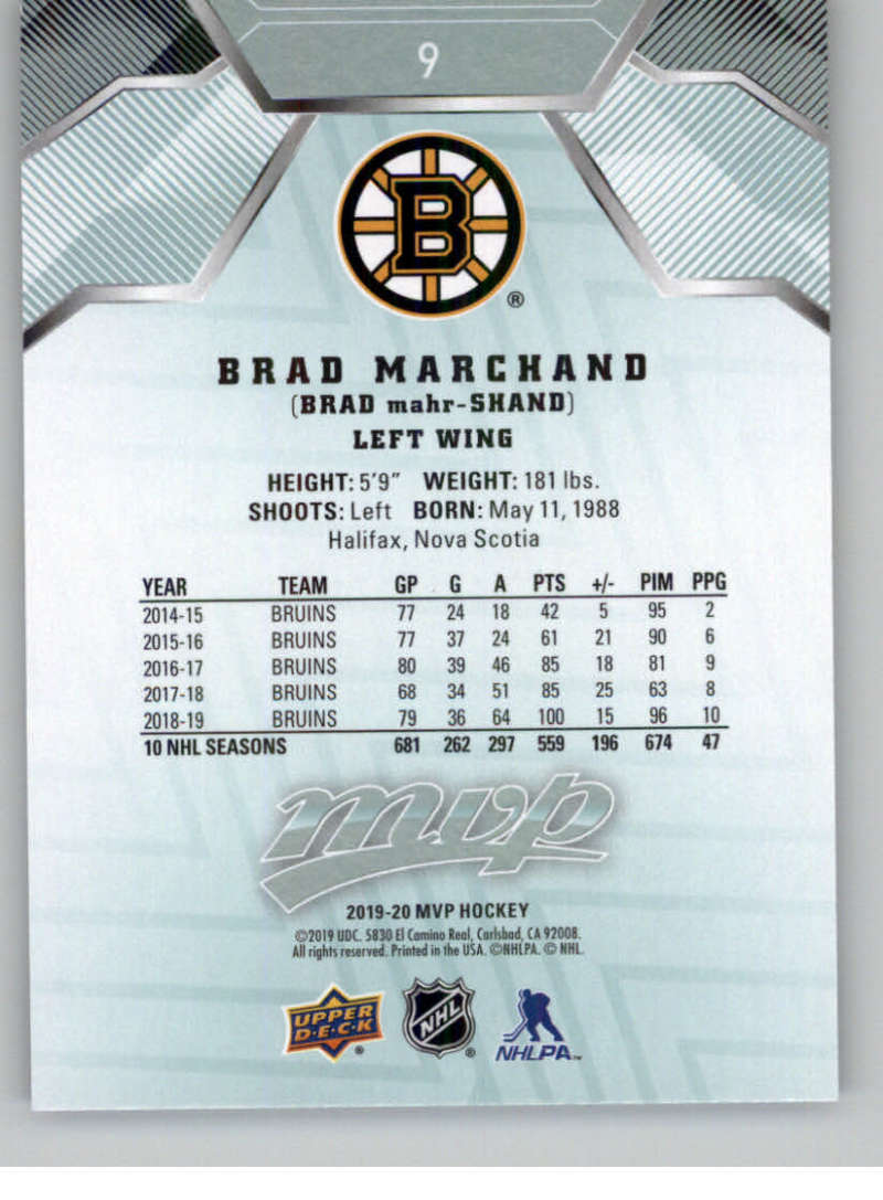 miniature 17 - 2019-20-Upper-Deck-MVP-NHL-Hockey-Cards-Pick-From-List-Base-SP-and-Rookies