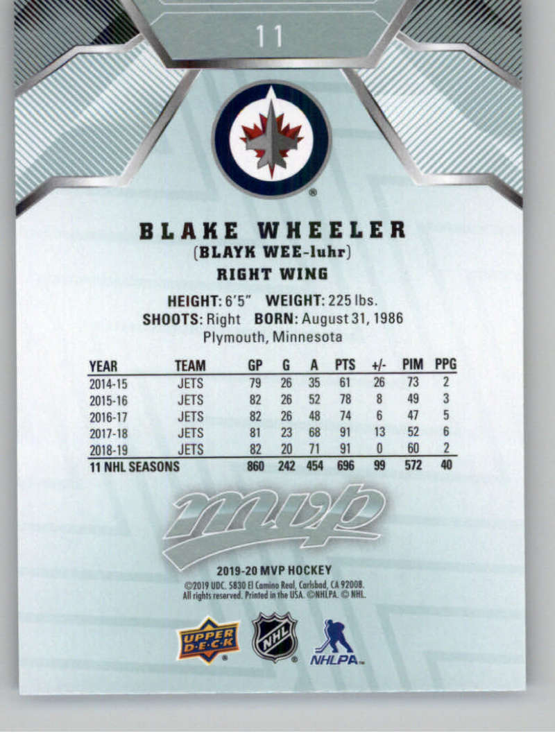 miniature 21 - 2019-20-Upper-Deck-MVP-NHL-Hockey-Cards-Pick-From-List-Base-SP-and-Rookies