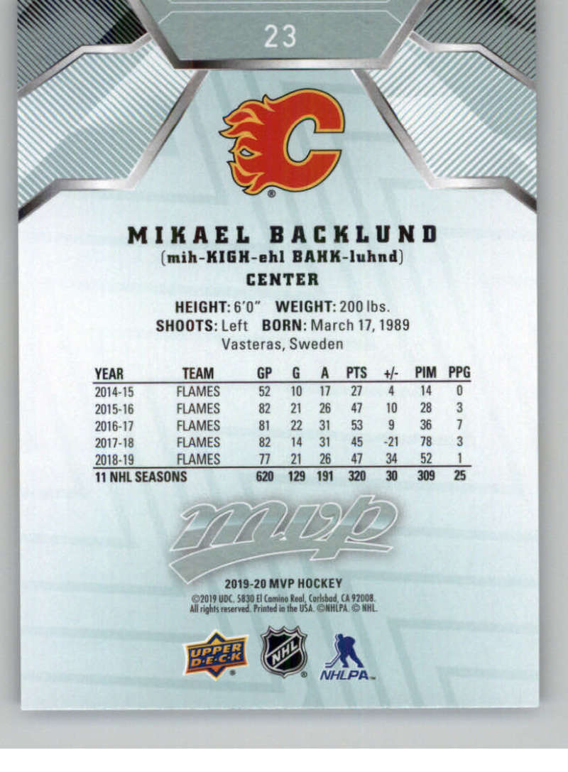 miniature 35 - 2019-20-Upper-Deck-MVP-NHL-Hockey-Cards-Pick-From-List-Base-SP-and-Rookies