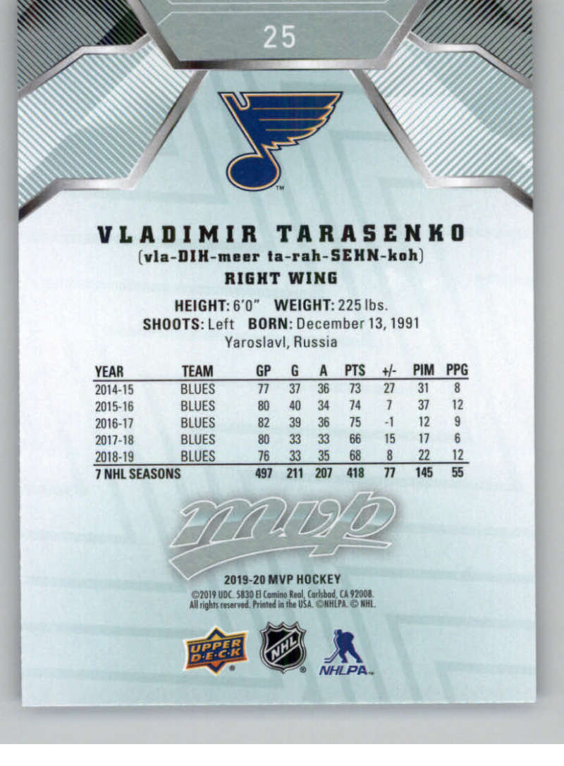 miniature 39 - 2019-20-Upper-Deck-MVP-NHL-Hockey-Cards-Pick-From-List-Base-SP-and-Rookies