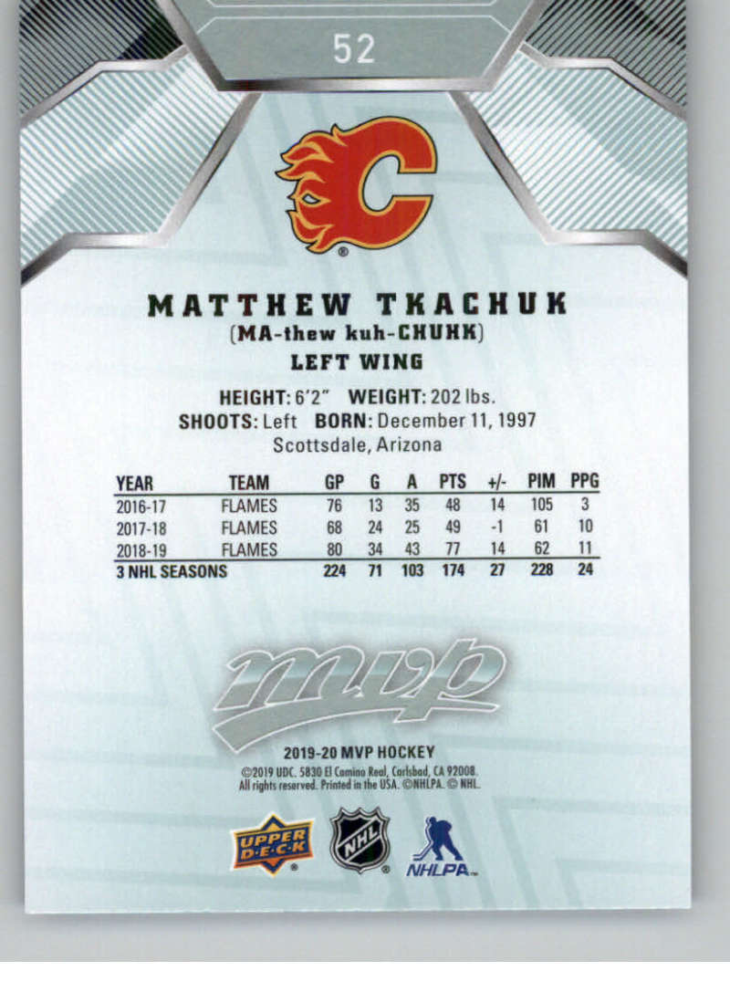miniature 69 - 2019-20-Upper-Deck-MVP-NHL-Hockey-Cards-Pick-From-List-Base-SP-and-Rookies