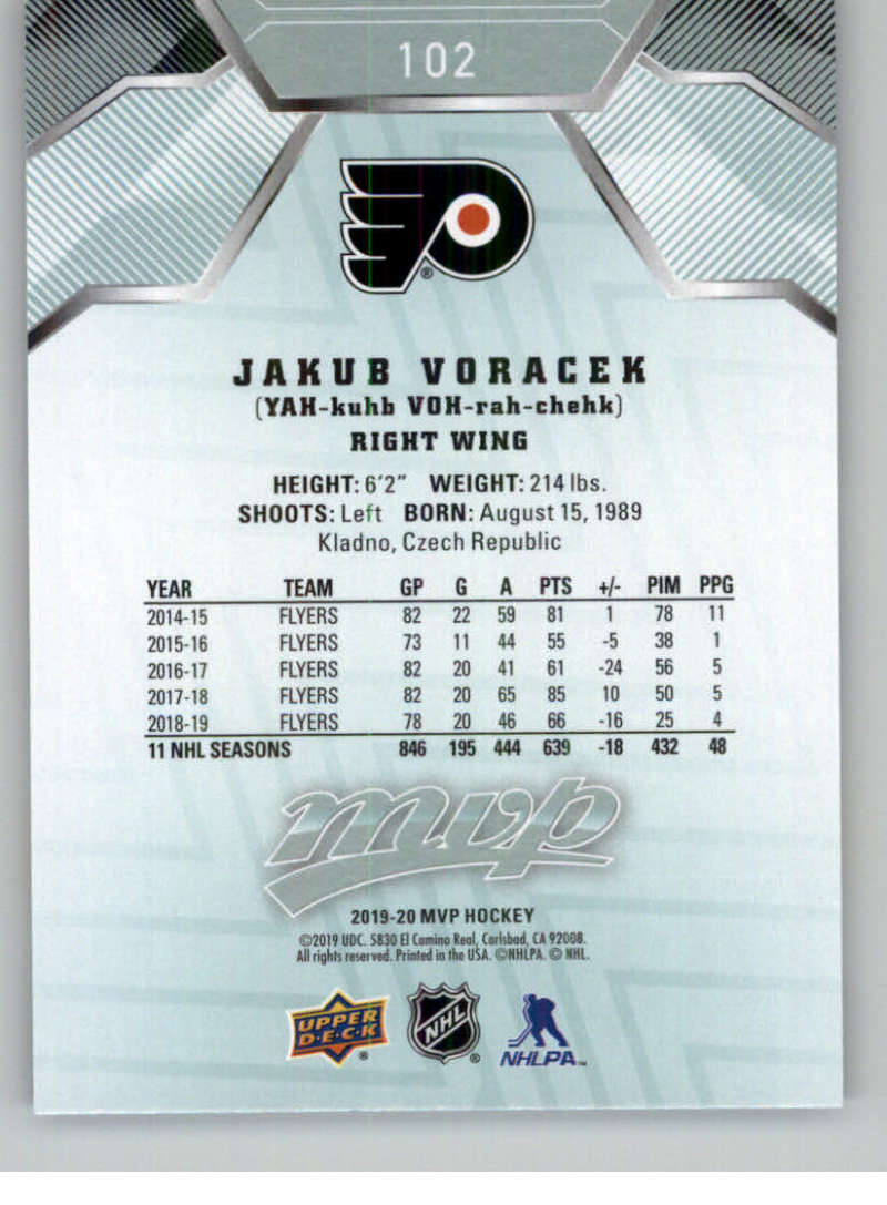 miniature 125 - 2019-20-Upper-Deck-MVP-NHL-Hockey-Cards-Pick-From-List-Base-SP-and-Rookies