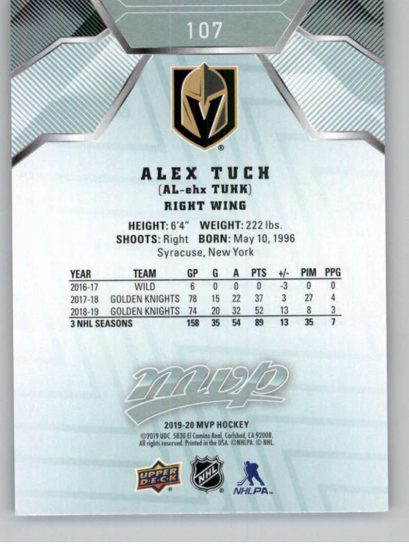 miniature 135 - 2019-20-Upper-Deck-MVP-NHL-Hockey-Cards-Pick-From-List-Base-SP-and-Rookies