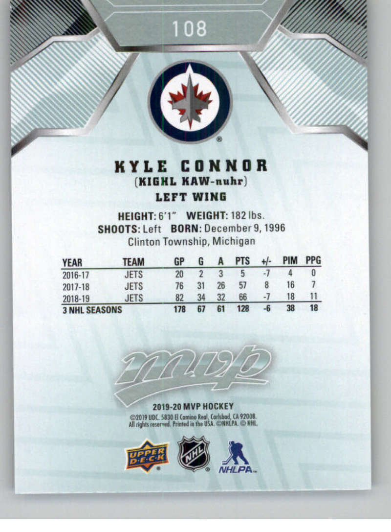 miniature 137 - 2019-20-Upper-Deck-MVP-NHL-Hockey-Cards-Pick-From-List-Base-SP-and-Rookies