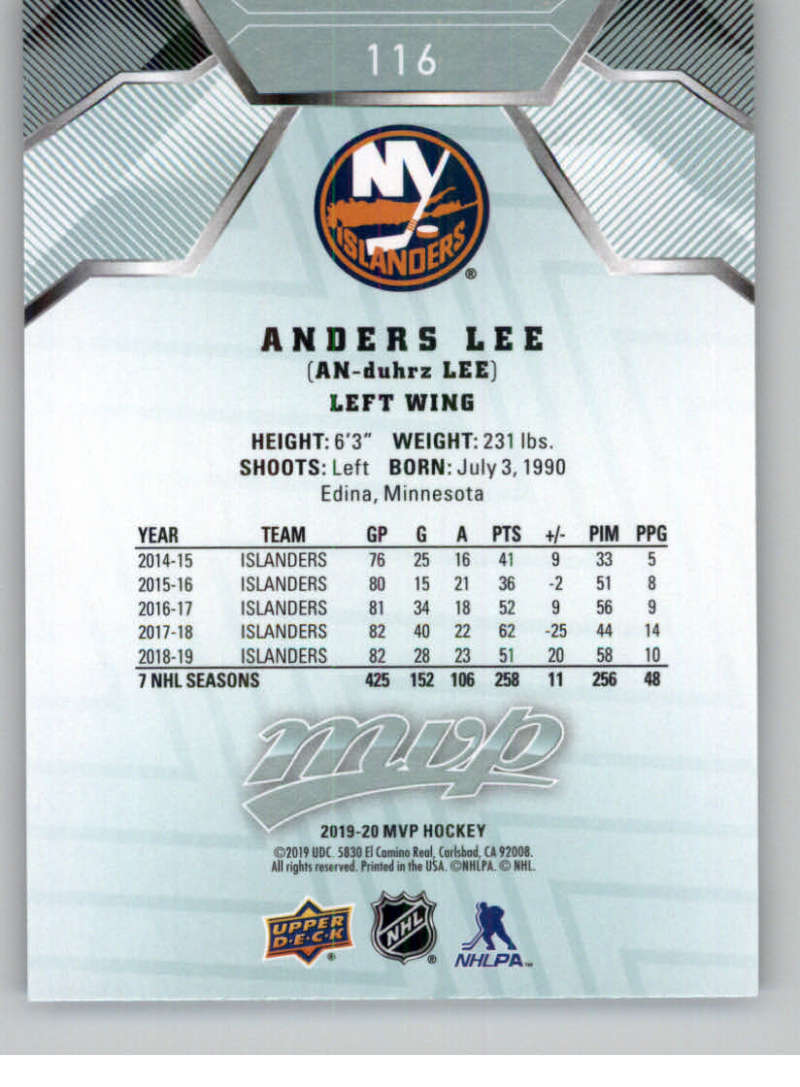 miniature 147 - 2019-20-Upper-Deck-MVP-NHL-Hockey-Cards-Pick-From-List-Base-SP-and-Rookies
