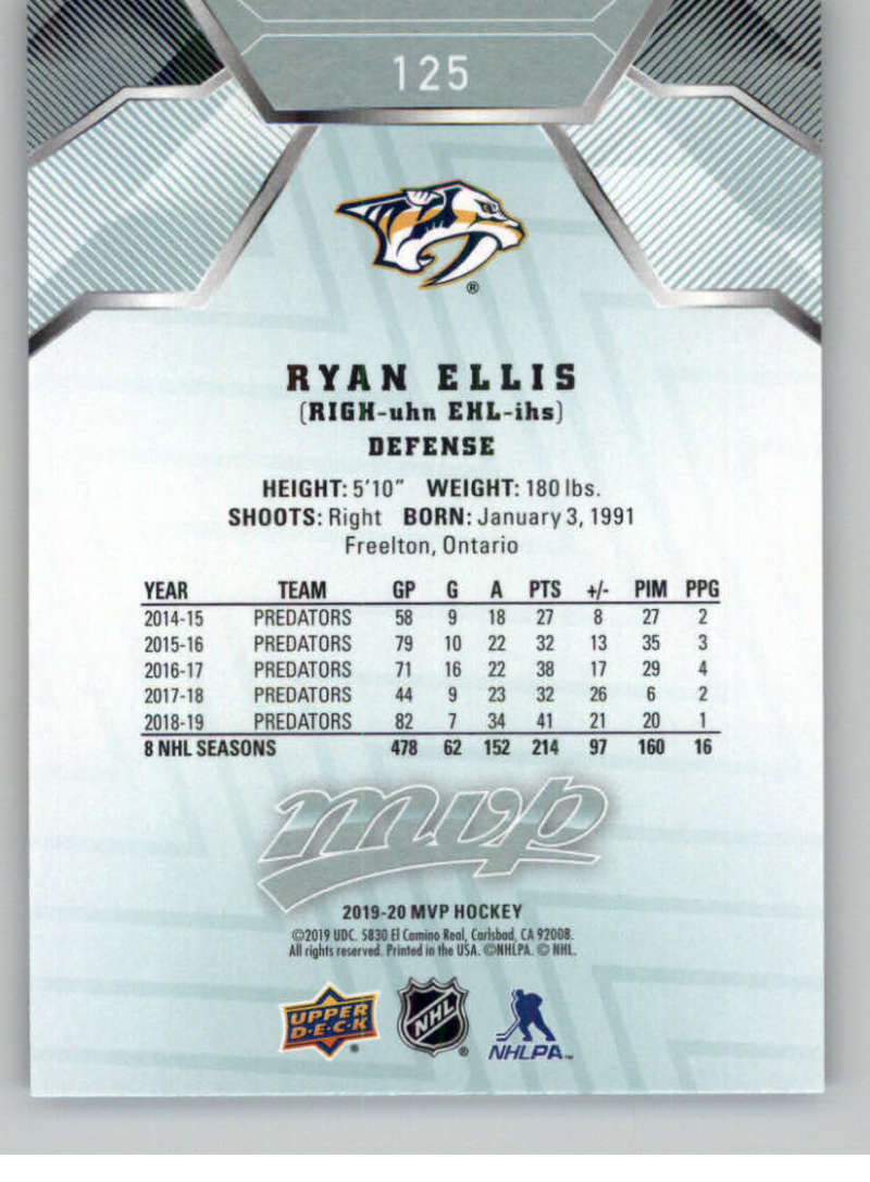 miniature 163 - 2019-20-Upper-Deck-MVP-NHL-Hockey-Cards-Pick-From-List-Base-SP-and-Rookies