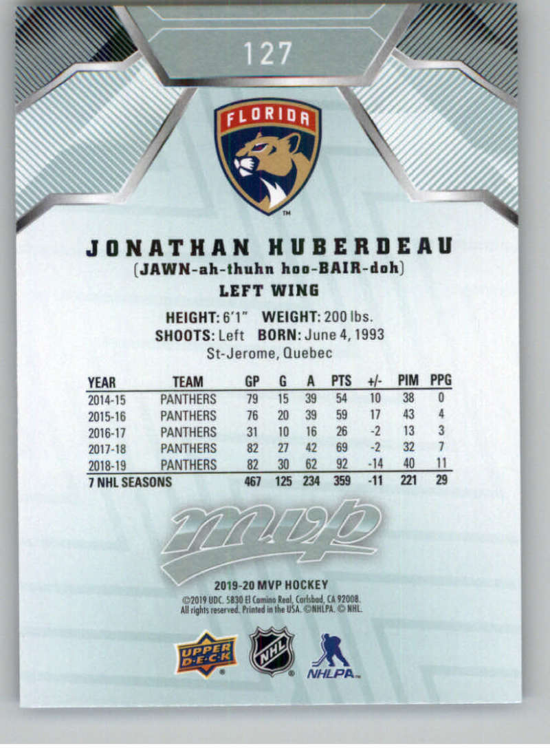 miniature 167 - 2019-20-Upper-Deck-MVP-NHL-Hockey-Cards-Pick-From-List-Base-SP-and-Rookies