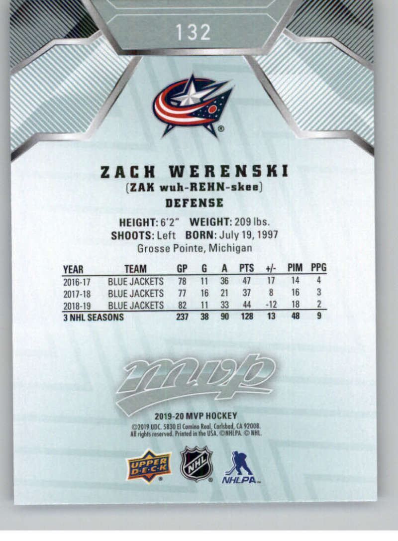 miniature 175 - 2019-20-Upper-Deck-MVP-NHL-Hockey-Cards-Pick-From-List-Base-SP-and-Rookies