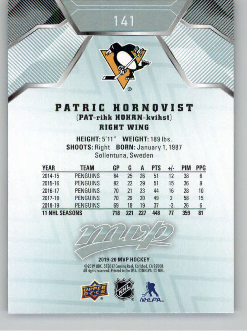 miniature 189 - 2019-20-Upper-Deck-MVP-NHL-Hockey-Cards-Pick-From-List-Base-SP-and-Rookies