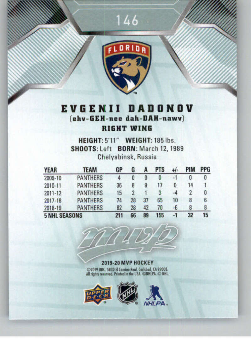 miniature 193 - 2019-20-Upper-Deck-MVP-NHL-Hockey-Cards-Pick-From-List-Base-SP-and-Rookies